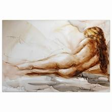 classical hot sexy naked nude girl oil painting indian mughal wall oil painting