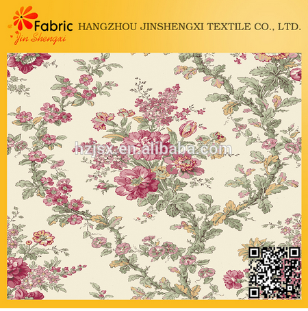 100% cotton custom printing home bedding brocade fabric wholesale