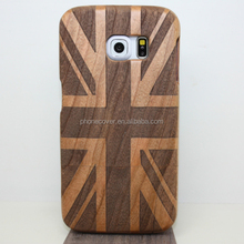Mobile accessory for samsung, New arrival Luxury genuine whole wood cell phone display case