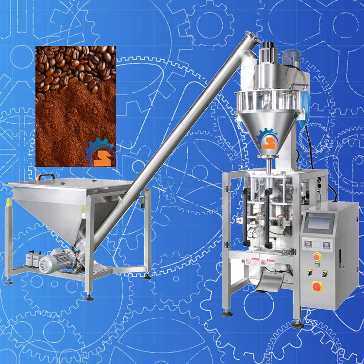 Auger Filler Automatic Cocoa/ Coffee Powder Packing Machine
