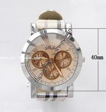 Gets.com leather watch with 7750 movement