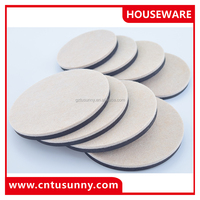 outdoor furniture foot pad,self adhesive felt pads,bottom feet pads