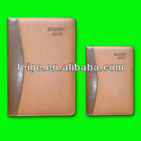 Custom Leather Cover Diary Notebook Stationery