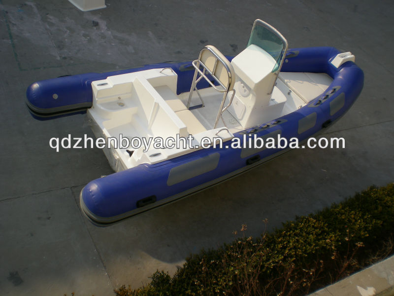 HOT!5.2m RIB Inflatable Racing hypalon PVC folding Boat China 9 person