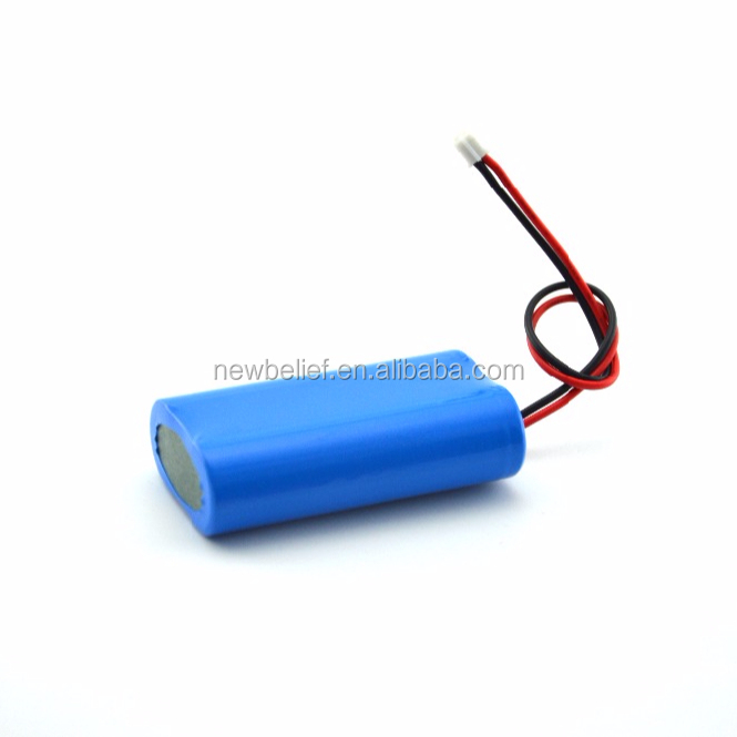 7.4v Lithium Battery Pack 2600mah 7.2v Li-ion 2500mah 3.7V 18650Li ion 5000mah Rechargeable Lithium Battery Pack
