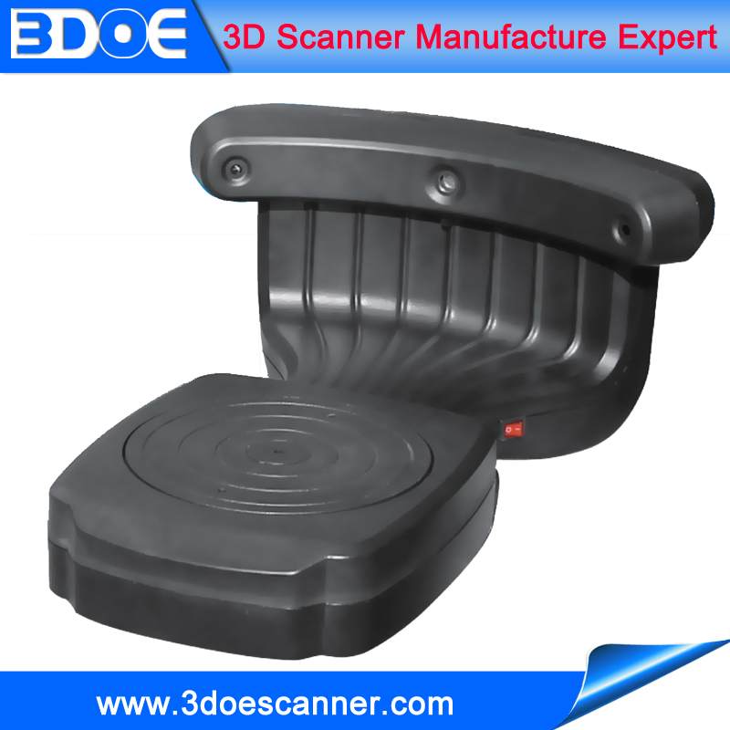 High accuracy desktop 3d scanner for printable 3d model