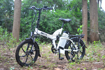 Cheap Folding E-bike electric cykel elcykel for rent sightseeing