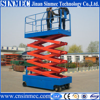 Professional Supply self propelled scissor lift/self propelled lifting equipment with CE standard