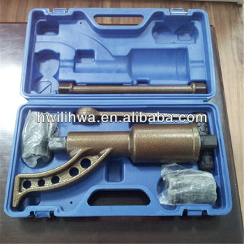 torque multiplier/hand tool for labor saving wrench