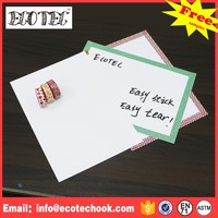 Silicone high quality dry erase board grid line whiteboard mill good price