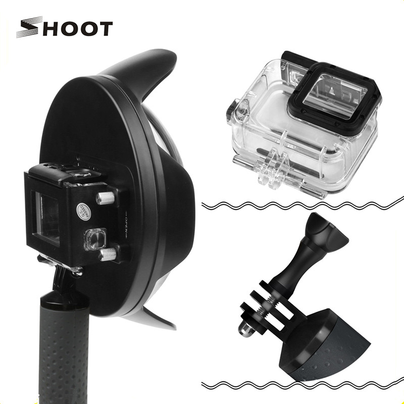 Shoot Underwater Dome Port 6 inch for Gopro 6 5 Camera Accessories