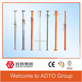 Heavy duty adjustable steel prop used with formwork and scaffolding