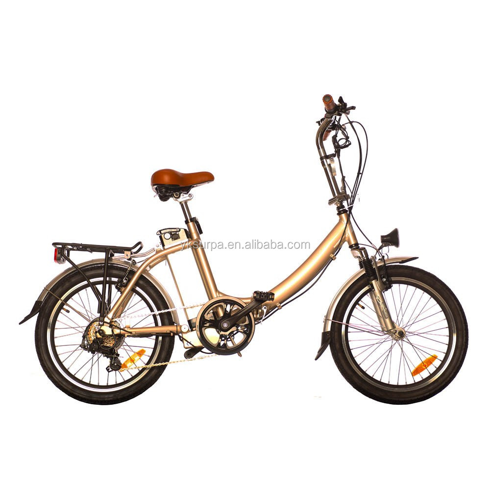 super quality 20 inches foldable electric bicycle