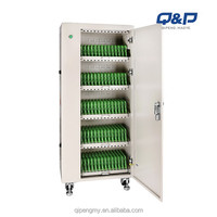 Integrated Power Supply in Office Tablet Mobile Laptop Charging Cart