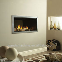 Biomass/Gas indoor marble fireplace