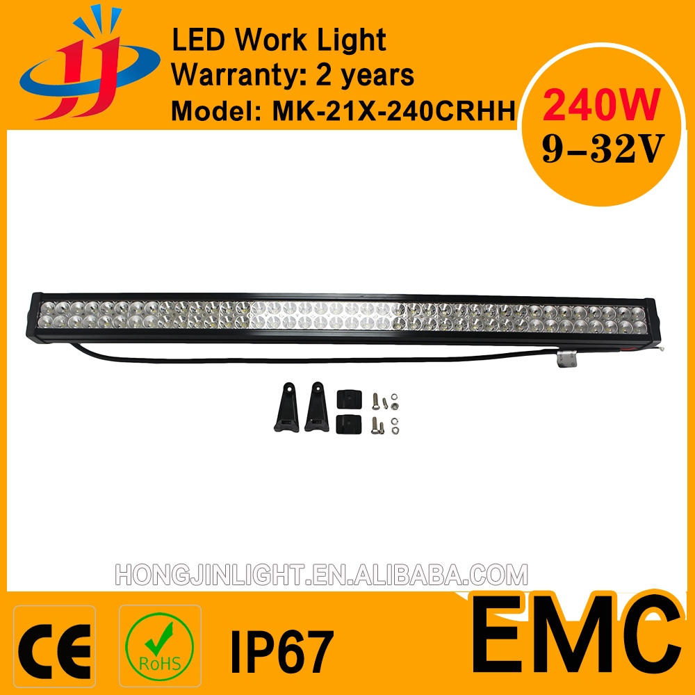 41.5 inch Crees super power 240w led driving light bar all cars factory promotion