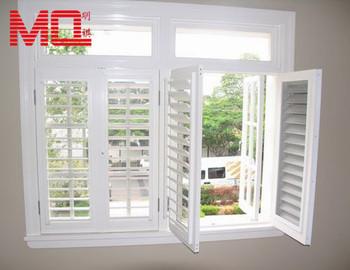 Latest upvc glass louver windows louvre window frames for Fenetre louvre