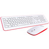 Good Feeling Touch high quality quick delivery PC Custom Printed waterproof multimedia wired keyboard and mouse combo