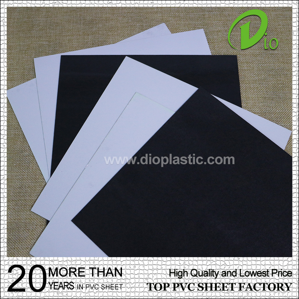 factory non-toxic plastic flexible 1mm photo album pvc sheet price