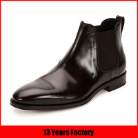 classy high quality leather chelsea boots for women