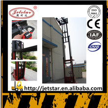 Small type 1200kg walking electric pallet forklift stacker