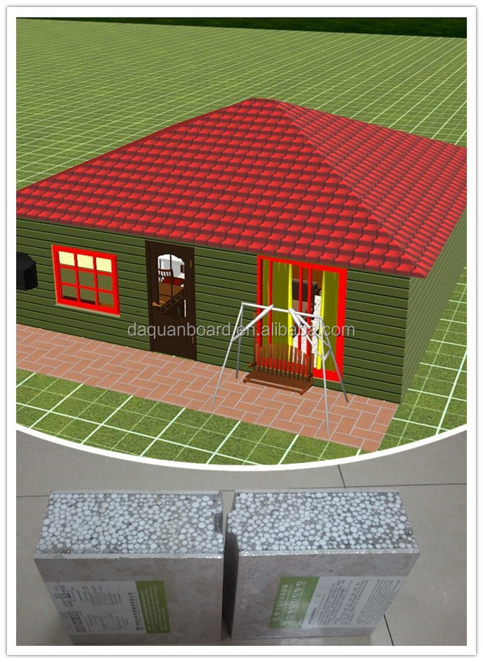well designed prefabricated 4 sides roofing light steel houses design