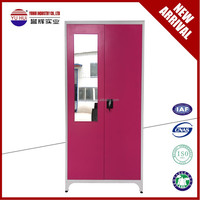 vertical steel storage wardrobe gym metal locker small clothes closet