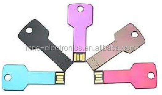 1GB 2GB 4GB Promotional Key Shaped USB Drive, USB Sticks 3.0 port, provide free laser logo sample