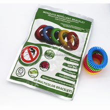 15bags=150pcs natural Mosquito control Bug Repellent Bracelet Adjustable WristBand anti mosquito bracelet for baby