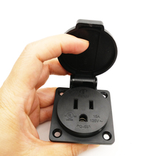 IEC 320 C14 United states 3 prong plug Waterproof AC POWER Socket Removable socket for US type B Plug