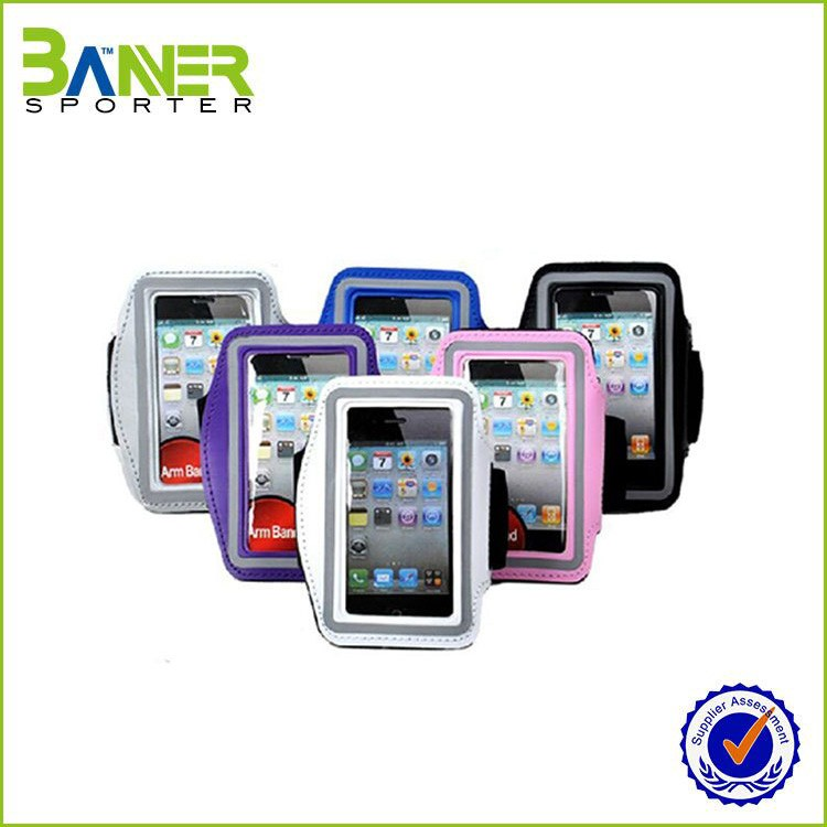 waterproof mobile case,armband case for mobile phone,flashing led armband
