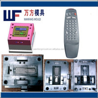 oem plastic remote control cover mould production