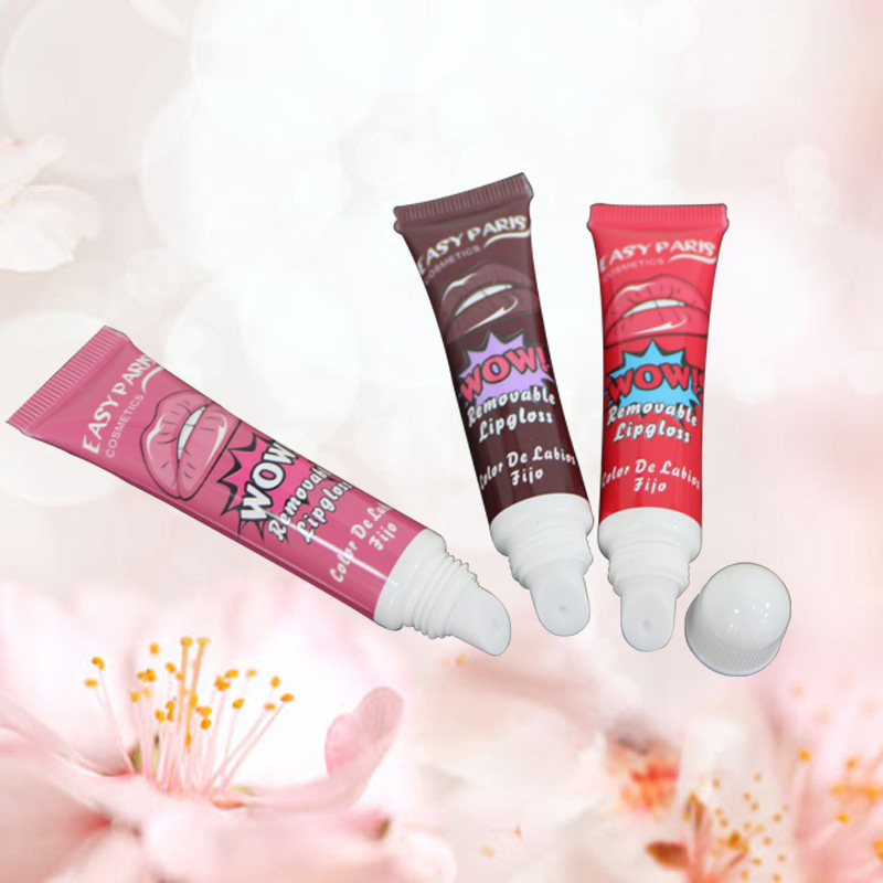 10G Frosted lip tube Lip gloss tubes packaging soft touch container lip balm ball packaging cosmetic tube