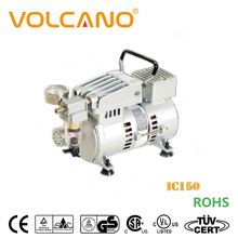 Ultra quiet induction motor air compressor for spraying and painting