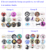 Interchangeable DIY 18mm Cabochon Glass Animal Pet Dog Bone Paw Print Button for Snap Bracelet Necklace Earring Jewelry