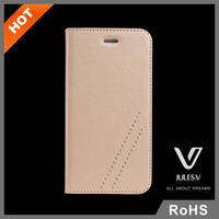 China supplier Luxury leather Back Phone Cases 4.7 inch Cover for iPhone 6 Case