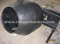 Best Price and High Quality RSBM skid steer loader concrete mixer bucket