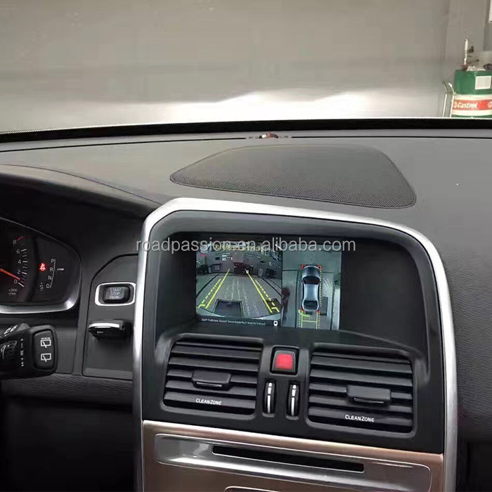 360 Bird View System with 360 Camera Interface for Volvo XC60 Sensus