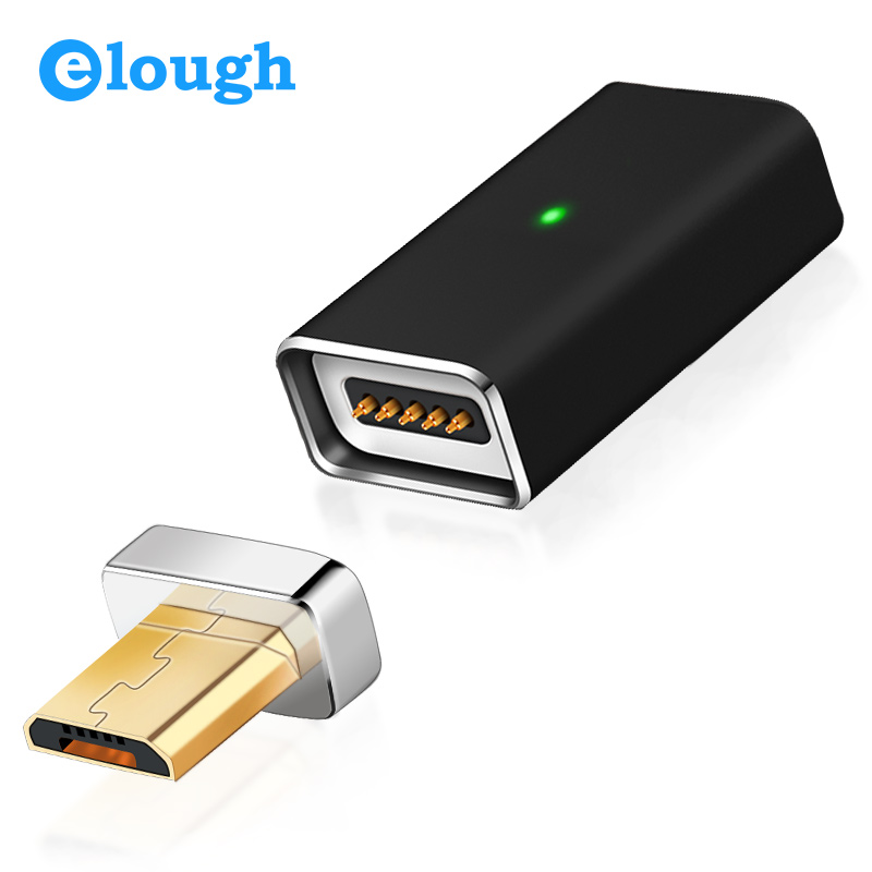 Elough Wholesale Fatory Price Magnetic adapter For Android magnetic cable connector