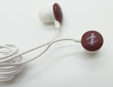 ear buds coffee bean mp3 music player mp3 mp4 skull earphones