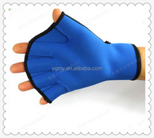 Neoprene Glove hand duck palm paddles hand,diving gloves unisex,waterproof gloves/silicone swimming glove