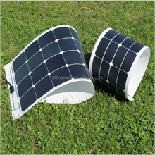 High efficiency sun power customized 80w 90w 100w 120w panneaux solaires for battery charge