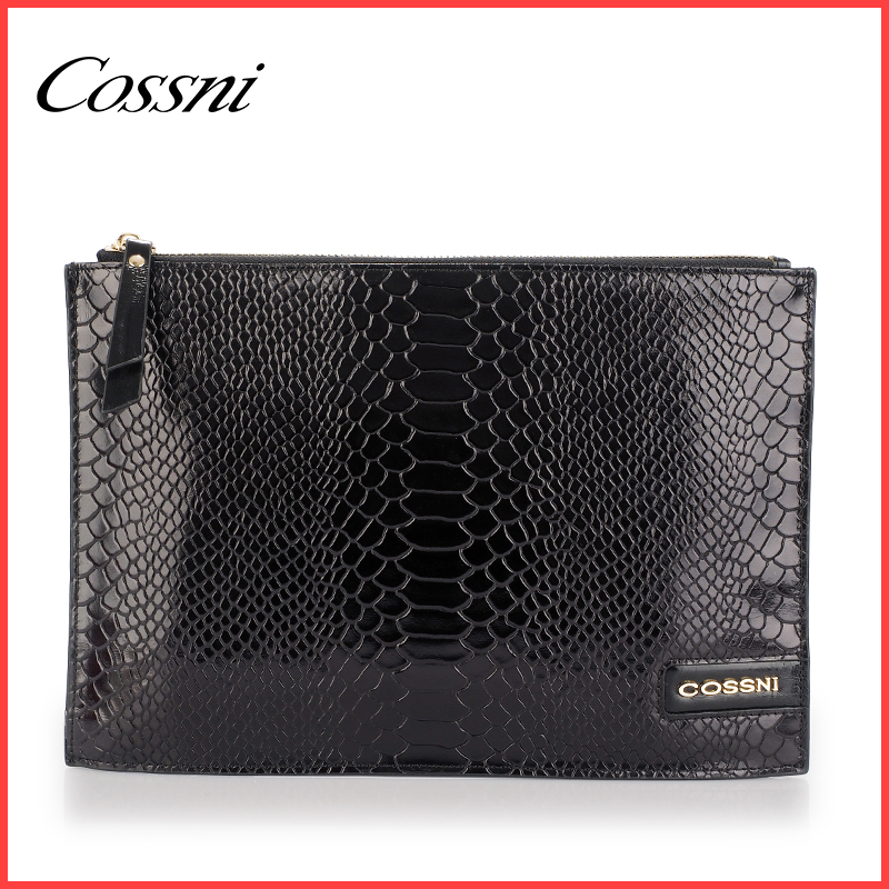 Fashion ladies leather hand bag clutch bag for models