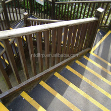 non-metallic anti slip frp Fiberglass plastic safety outdoor step covering