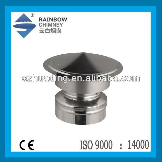 CE stainless steel fireplace chimney rain cap chimney cowl