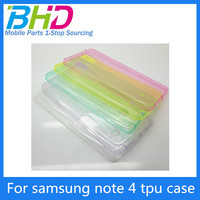 cell phone case for samsung galaxy note 4 tpu case wholesale