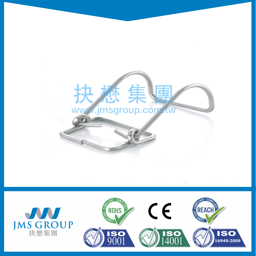 Taiwan Supplier custom made Bending Wire Forming Wire Spring Clip Reliable torsion Wire Spring Clip