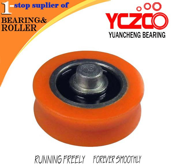 YCZCO 30mm nylon roller with ball bearings