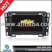 7 inch car dvd player speical for CHEVROLET NEW SAIL with high resolution digital touch screen ,gps ,bluetooth,TV,radio,ipod