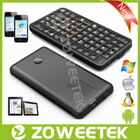 Portable Wireless Air Mouse Keyboard with Remote Control Fly Mouse for ipad/google tv